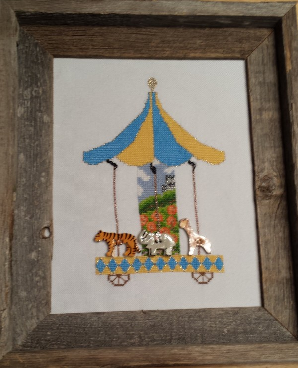 Circus Carousel by Threaded Treasures