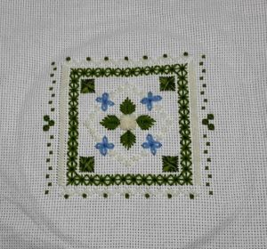 EGA Green and White Sampler